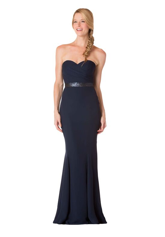 Bari Jay Bridesmaids 1709 Strapless Bridesmaid Dress