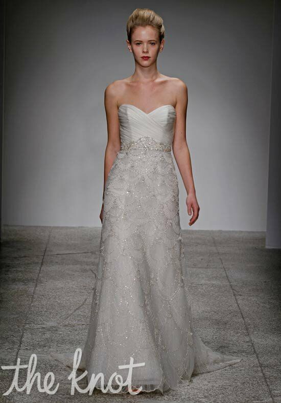 Kenneth Pool Estelle Wedding Dress - The Knot