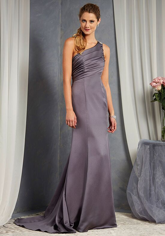Alfred Angelo Signature Bridesmaids Collection 7379L One Shoulder Bridesmaid Dress