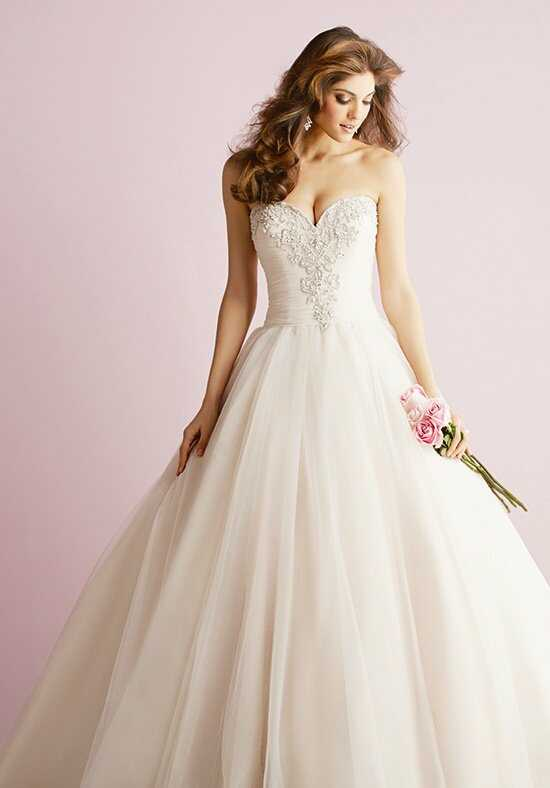 Allure Romance 2710 Ball Gown Wedding Dress
