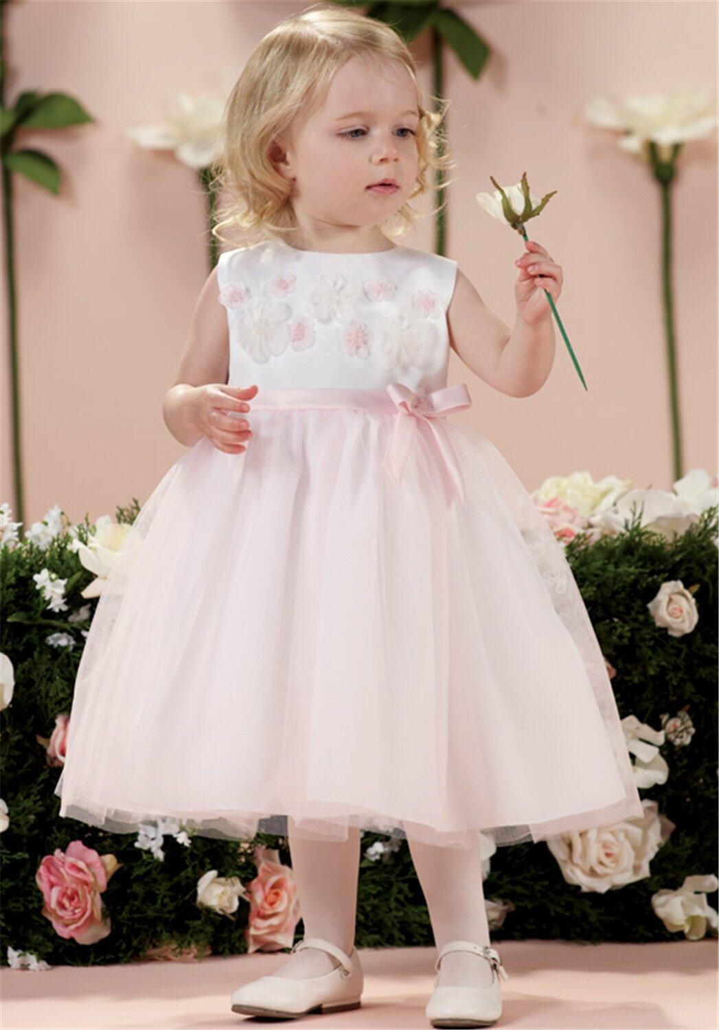 Joan Calabrese by Mon Cheri 114355B Flower Girl Dress photo