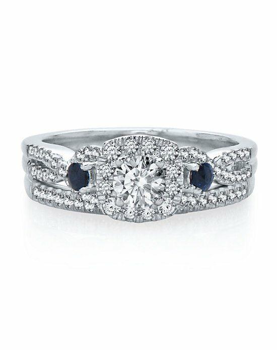 Helzberg Diamonds 2096576 White Gold Wedding Ring