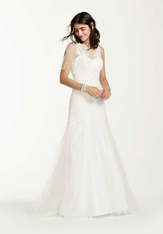David's Bridal David's Bridal Collection Style MK3718 Sheath Wedding Dress