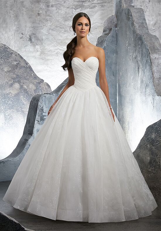 Morilee by Madeline Gardner/Blu Kalinda/ 5617 Ball Gown Wedding Dress