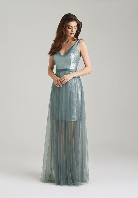 Allure Bridesmaids 1470 V-Neck Bridesmaid Dress