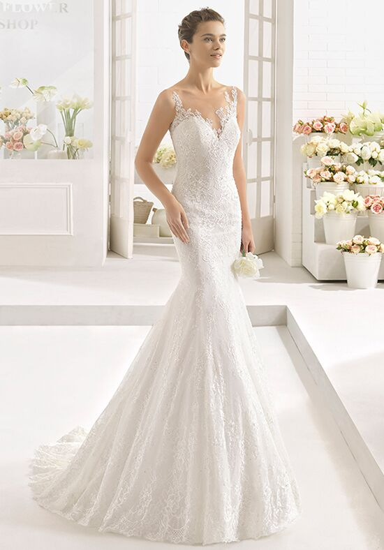 Aire Barcelona Calce Mermaid Wedding Dress