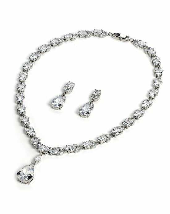 USABride Radiance CZ Jewelry Set JS-1635 Wedding Necklace photo