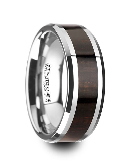 Mens Tungsten Wedding Bands W4273-EWWI Tungsten Wedding Ring