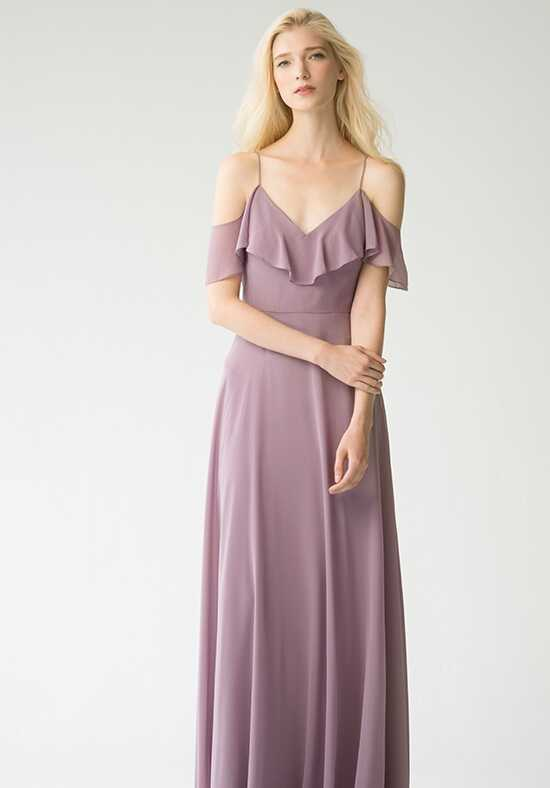Jenny Yoo Collection (Maids) Mila {Lilac} #1785 Off the Shoulder Bridesmaid Dress