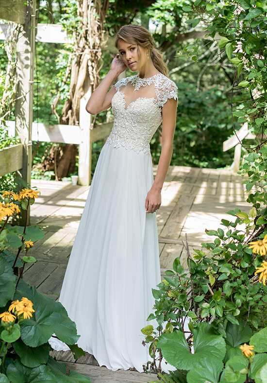 Lillian West 66006 A-Line Wedding Dress