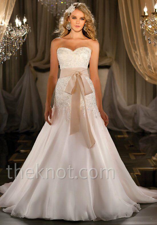 Martina Liana 411 A Line Wedding Dress