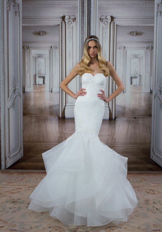LOVE by Pnina Tornai for Kleinfeld 14489 Mermaid Wedding Dress