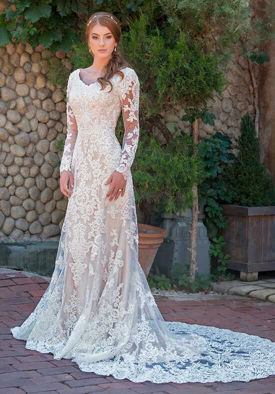 Modest by Mon Cheri TR11838 A-Line Wedding Dress