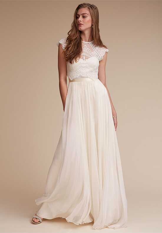 BHLDN Itala Top & Delia Maxi Skirt A-Line Wedding Dress
