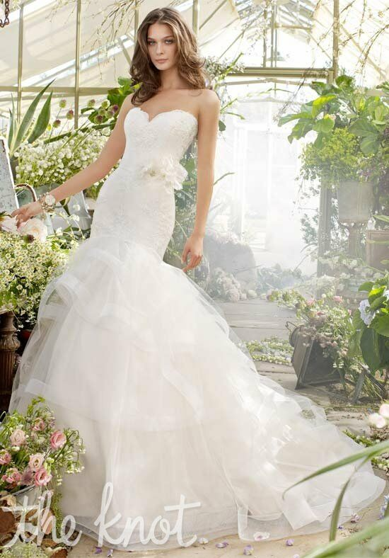 Tara Keely by Lazaro 2200 Mermaid Wedding Dress