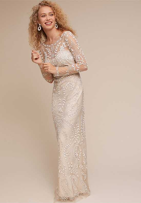BHLDN Beyond The Sea Gown Sheath Wedding Dress