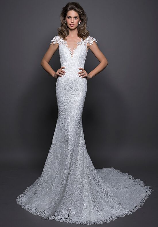 LOVE by Pnina Tornai for Kleinfeld 14581 Sheath Wedding Dress