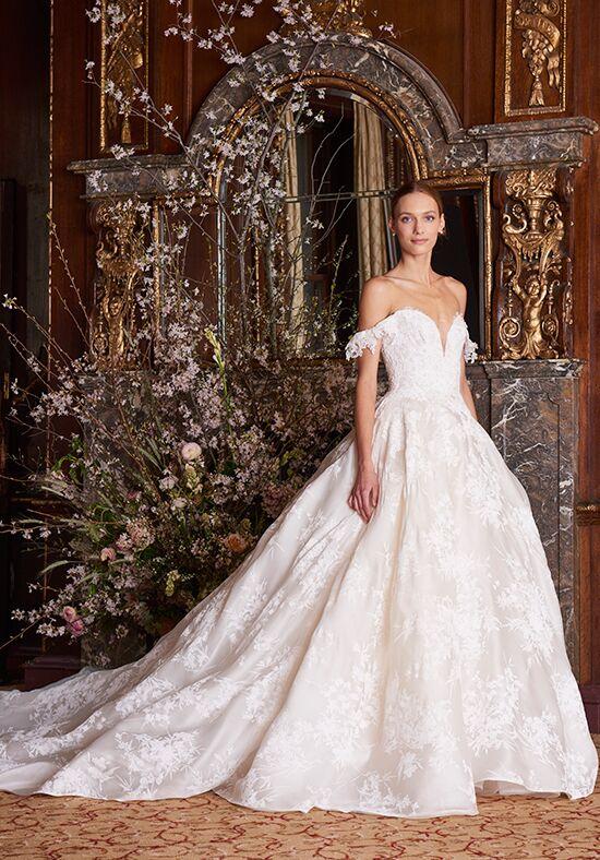 4e38285cbf3d Monique Lhuillier Wedding Dresses | The Knot