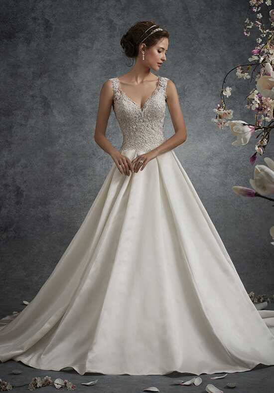 V neck wedding dresses sophia tolli junglespirit Gallery