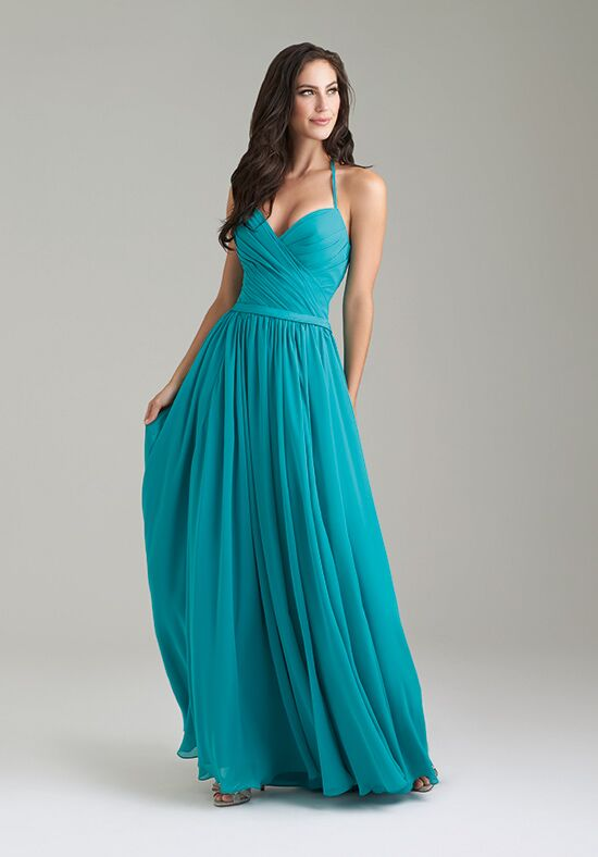 Allure Bridesmaids 1467 V-Neck Bridesmaid Dress
