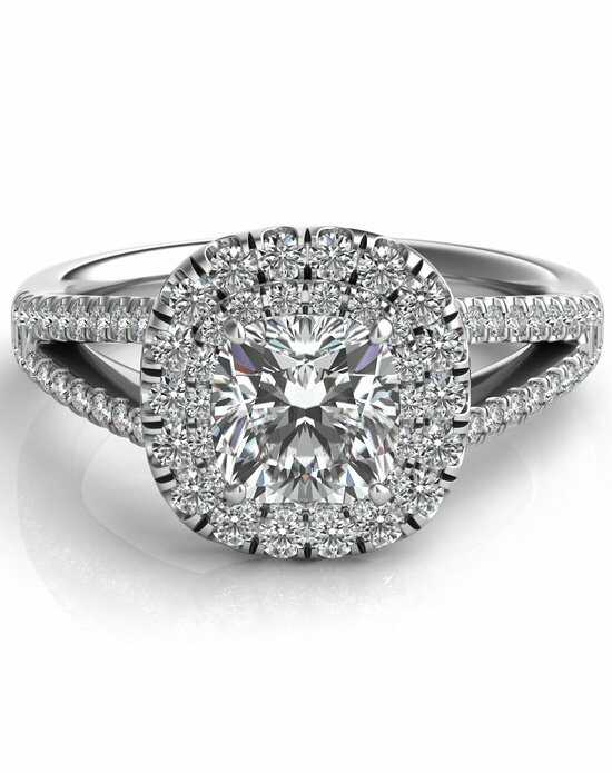 Since1910 Glamorous Cushion Cut Engagement Ring