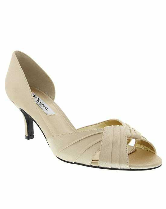Nina Bridal Wedding Accessories CULVER_GOLD Shoe
