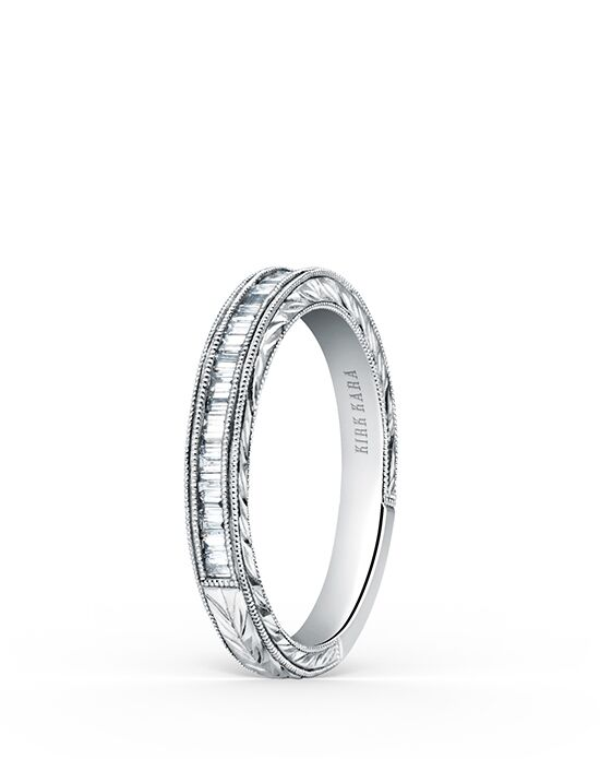 Kirk Kara Stella K1151D-B White Gold Wedding Ring