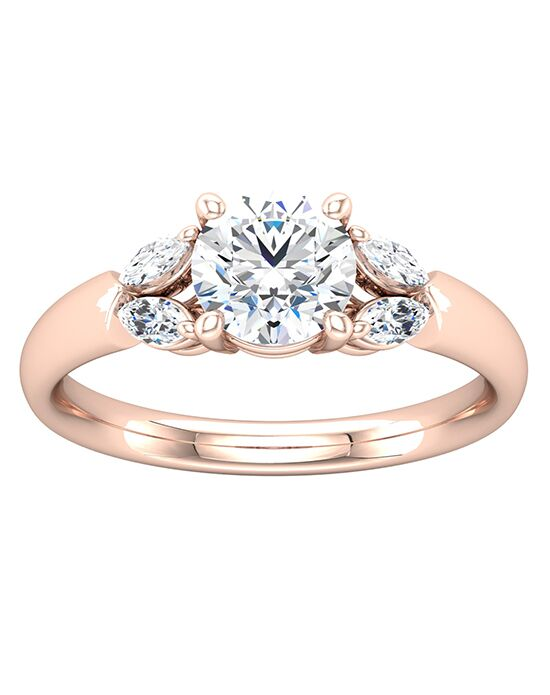 ever&ever Elegant Princess, Asscher, Cushion, Emerald, Marquise, Round, Oval Cut Engagement Ring