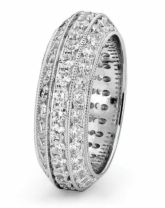 TRUE KNOTS Love is Light Collection - DW256 Palladium, Platinum, White Gold Wedding Ring