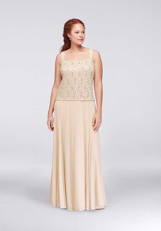 David's Bridal Mother of the Bride 849569 Gold Mother Of The Bride Dress