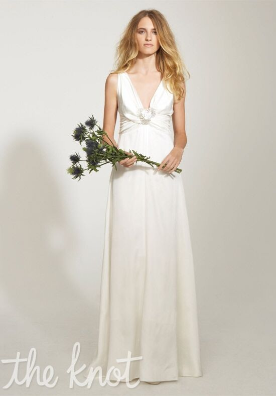 Nicole Miller EK0030 Sheath Wedding Dress