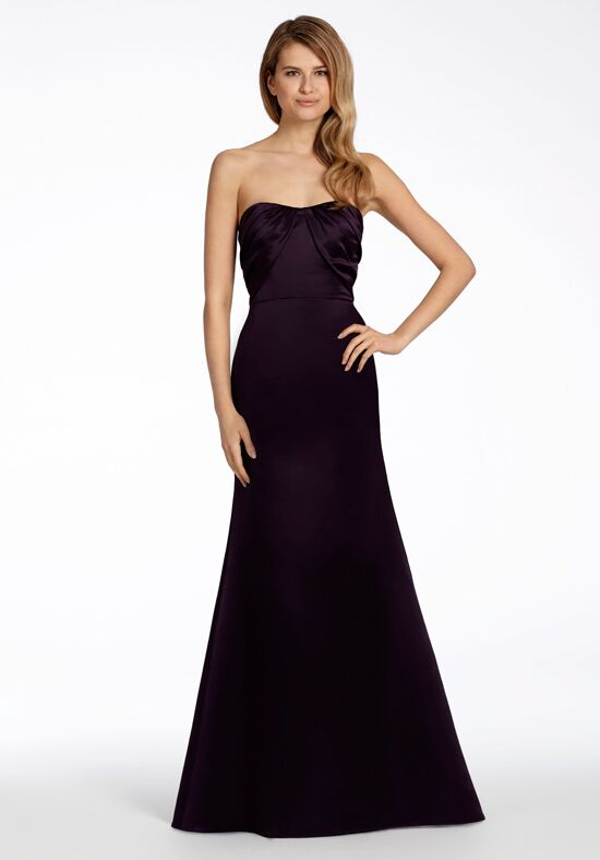 Hayley Paige Occasions 5705 Strapless Bridesmaid Dress
