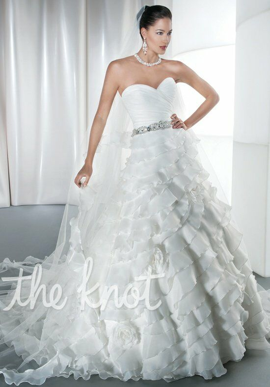 Demetrios 3195 A-Line Wedding Dress