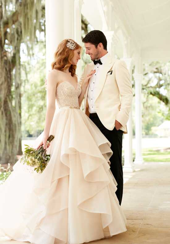 Martina Liana Cayla+Stevie Ball Gown Wedding Dress