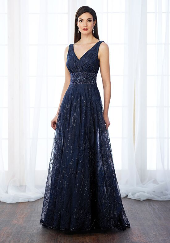 Cameron Blake 217645 Blue Mother Of The Bride Dress