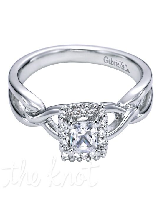 Adore by Gabriel & Co. W-ER5707D4 White Gold Wedding Ring