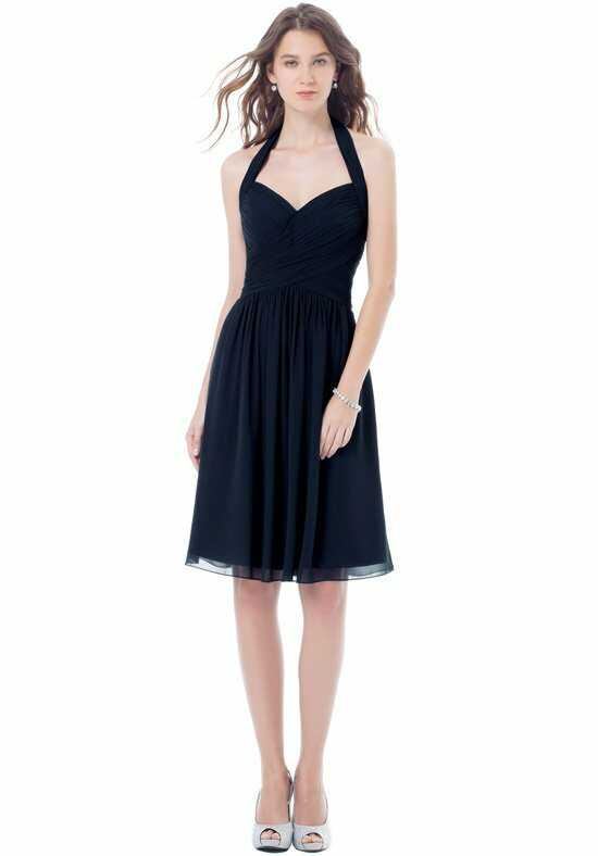 Bill Levkoff 398 Halter Bridesmaid Dress