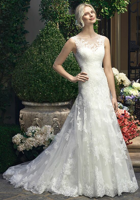 Casablanca Bridal 2208 A-Line Wedding Dress