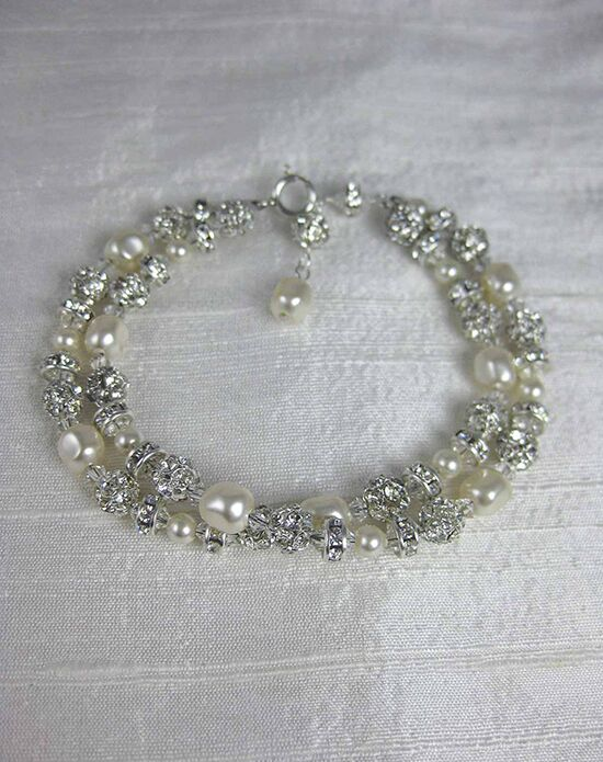Everything Angelic Grace 2 Strand Bracelet - b151 Wedding Bracelet photo