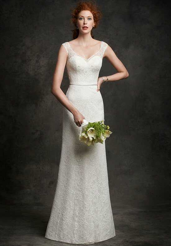 Ella Rosa: Gallery GA2240 Sheath Wedding Dress