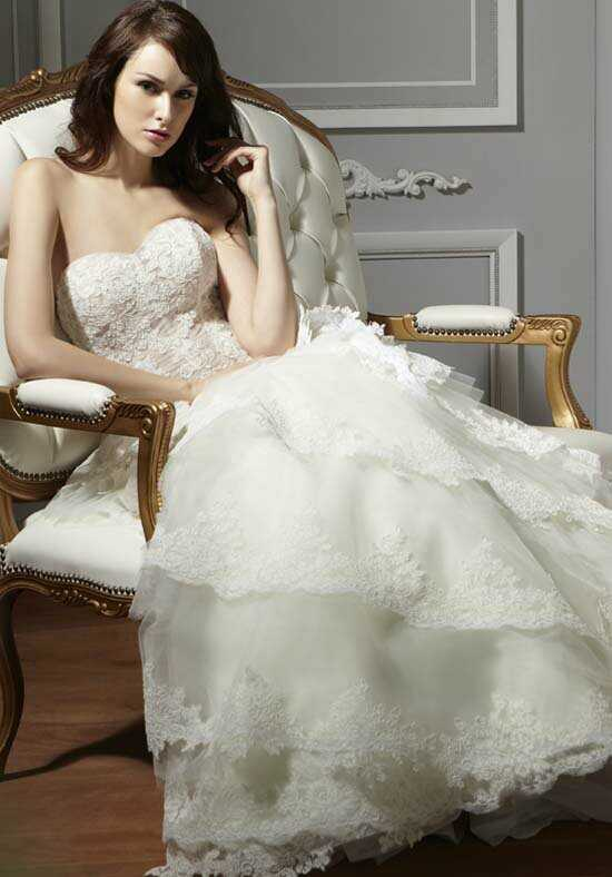 Saison Blanche Couture 8019 Ball Gown Wedding Dress