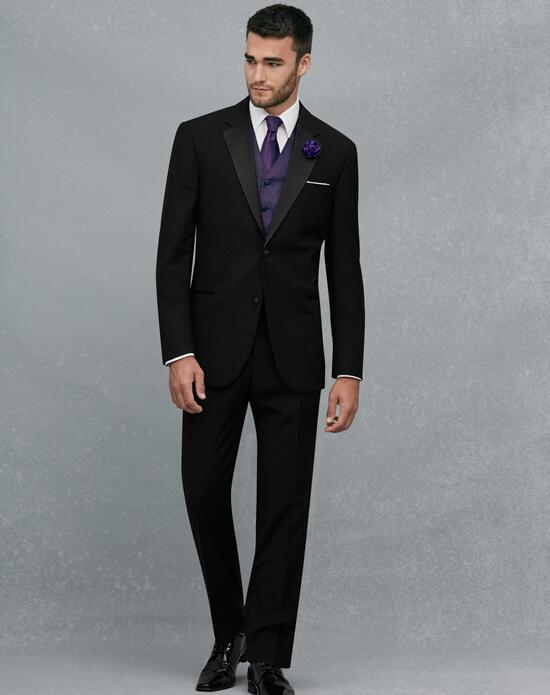 Jos. A. Bank Black Notch Lapel Tuxedo Wedding Tuxedos + Suit photo