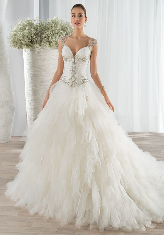 Demetrios 654 Ball Gown Wedding Dress