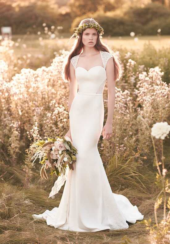 Mikaella 2062 Sheath Wedding Dress