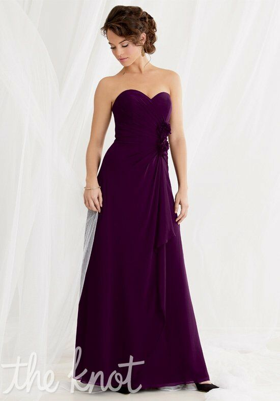 Jordan 462 Strapless Bridesmaid Dress