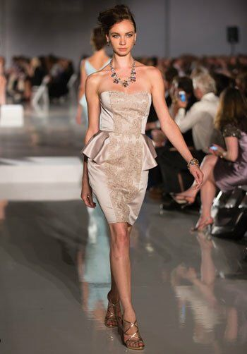 Badgley Mischka BM12S1 Sweetheart Bridesmaid Dress