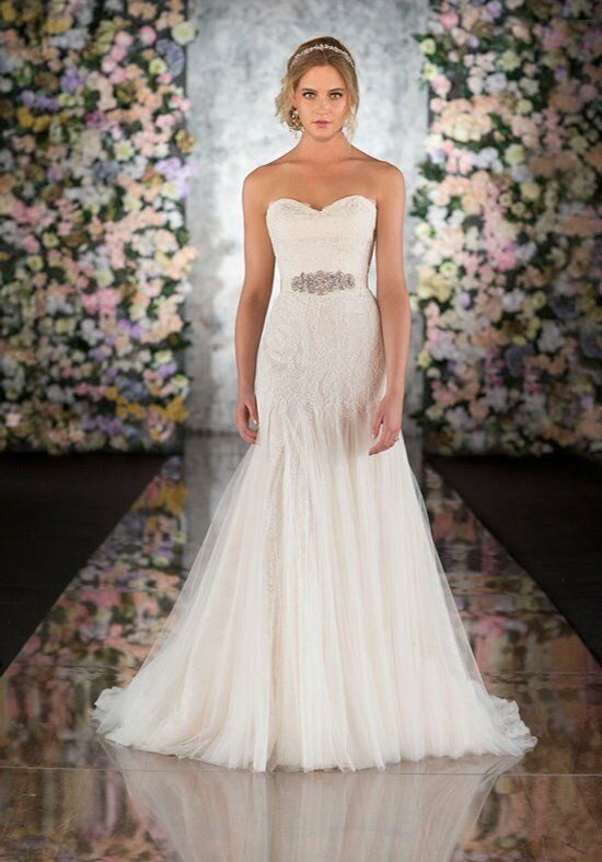 Martina Liana 541 Sheath Wedding Dress