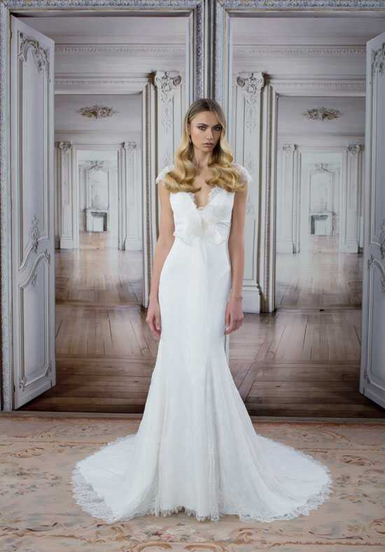 LOVE by Pnina Tornai for Kleinfeld 14488 Sheath Wedding Dress