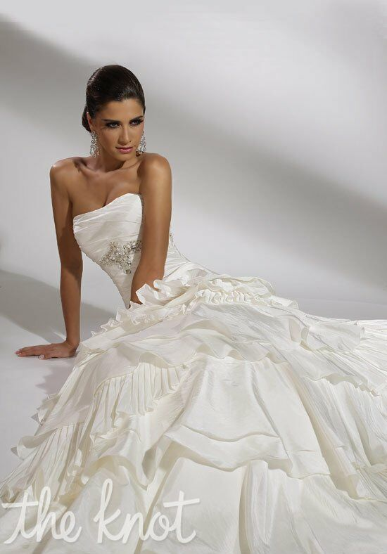 Jacquelin Exclusive 19860 A-Line Wedding Dress