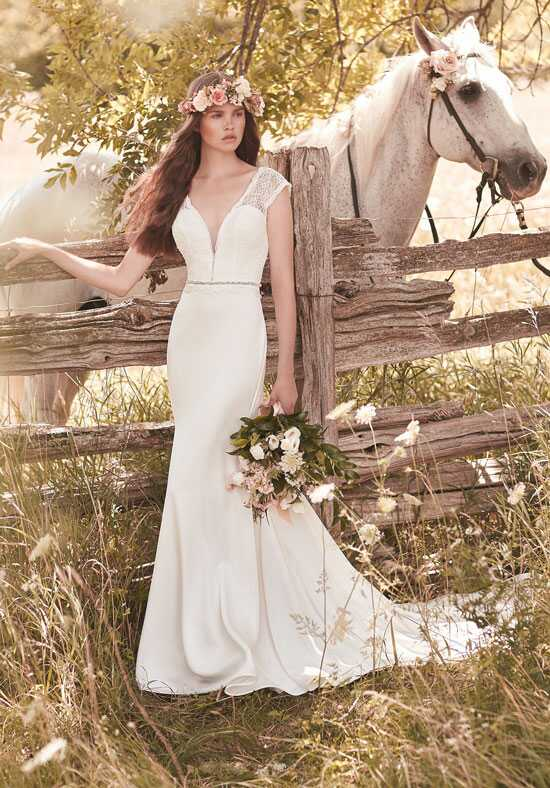 Mikaella 2057 Sheath Wedding Dress